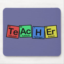 Mousepad with Teacher design
