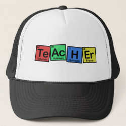 Trucker Hat with Teacher design