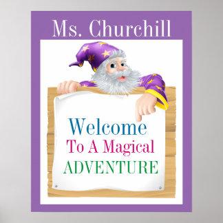 Teacher Magic Poster - SRF