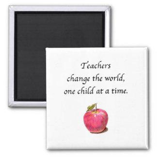 Teacher magnet