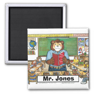 Teacher Magnet - Personalized