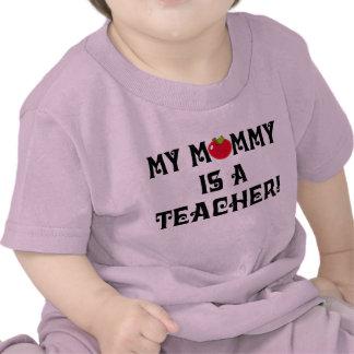 Teacher Mommy School Apple Baby Tshirt