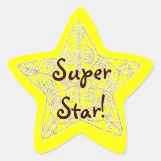 Teacher motivational / inspirational star sticker