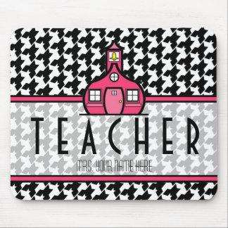 Teacher Mousepad - Houndstooth