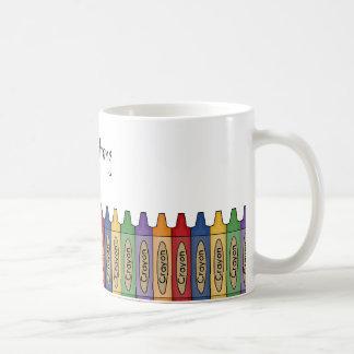 Teacher Mug - Crayons