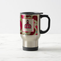 Teacher Mug Schoolhouse Paisley