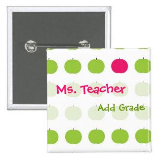 Teacher Name Buttons
