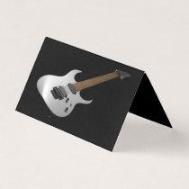 Teacher of guitar business card
