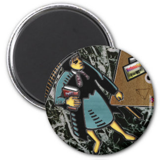 Teacher of Multiple Courses 2 Inch Round Magnet