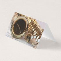 Teacher of Saxophone Business Card