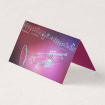 Teacher of  the trumpet business card
