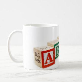 Teacher of the year! classic white coffee mug