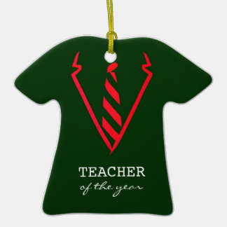 Teacher Of The Year Suit Ornament