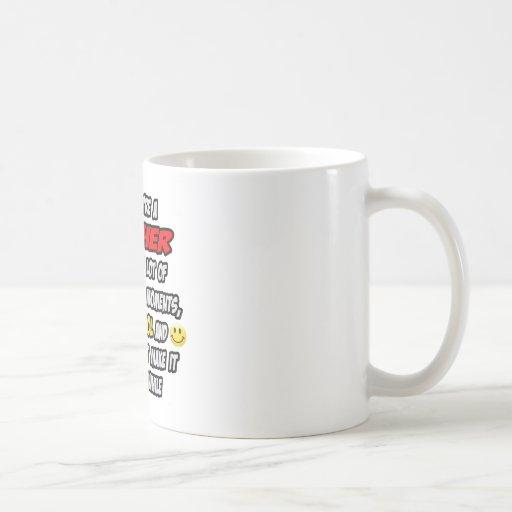 Teacher .. OMG WTF LOL Classic White Coffee Mug