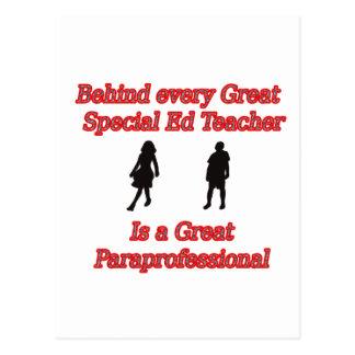 teacher para copy postcard