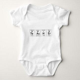 Teacher Periodic Table Baby Bodysuit