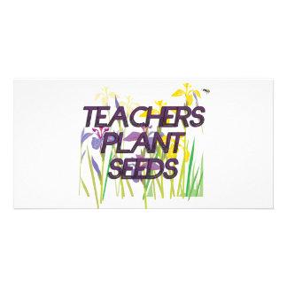 TEACHER PLANT SEEDS CARD