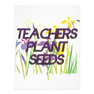 TEACHER PLANT SEEDS FLYER