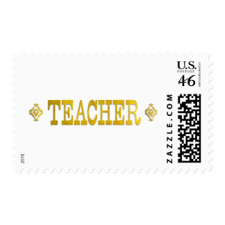 TEACHER POSTAGE STAMPS