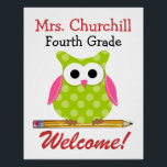 "Teacher Poster - SRF<br><div class=""desc"">Thanks,  Sharon Rhea Ford ,  NBCT - ART(www.zazzle.com/sharonrhea*) Please Bookmark me and come to Zazzle via my link ! Thanks.</div>"