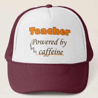 Teacher Powered by caffeine Trucker Hat
