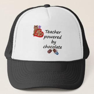 Teacher powered by Chocolate Trucker Hat