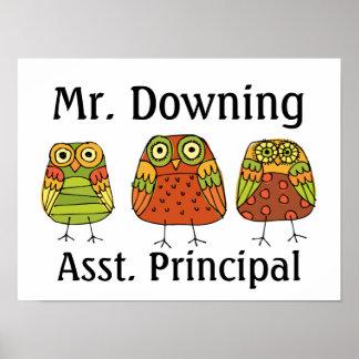 Teacher - Principal Poster - SRF