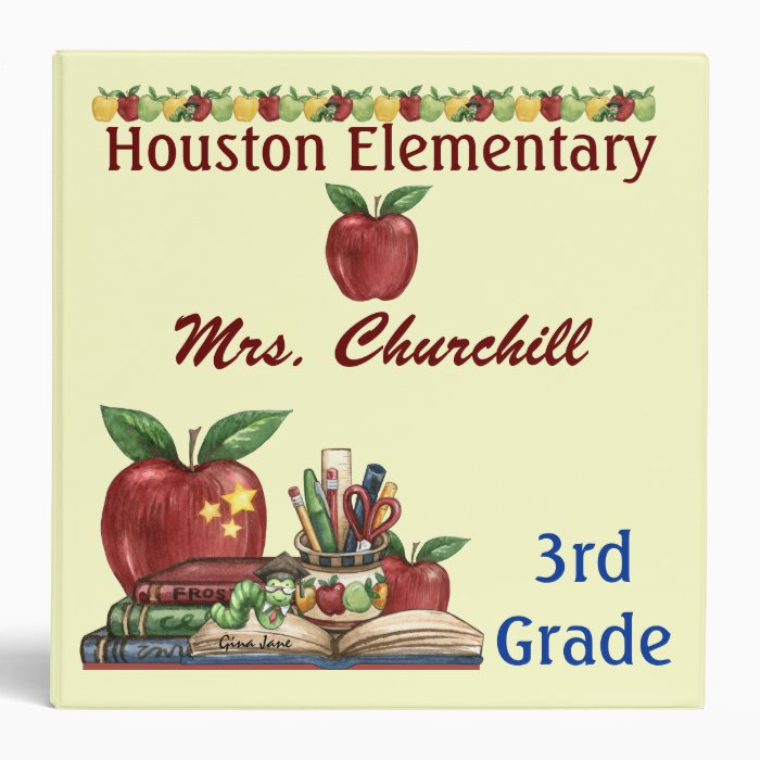 Teacher / Principal School Binder - SRF