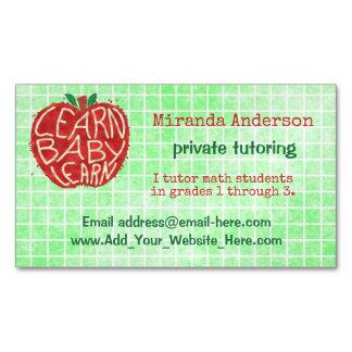 Math Tutor Business Cards & Templates | Zazzle