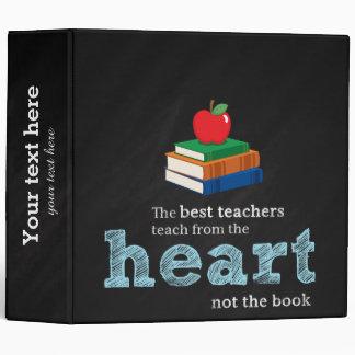 Teacher quote 3 ring binder