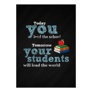 Teacher quote poster
