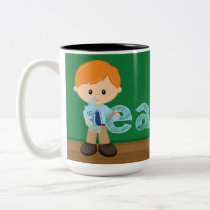 Teacher quote Two-Tone coffee mug