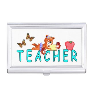 Teachers Business Card Cases