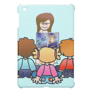 Teacher reading to class iPad mini cases