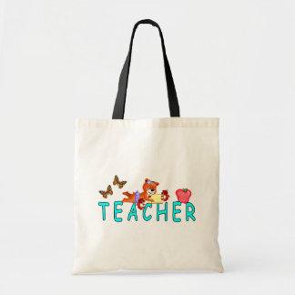 Teacher Reading Tote Bag