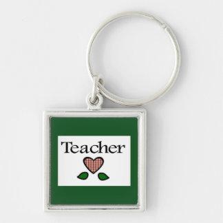 Teacher Red GH Keychain