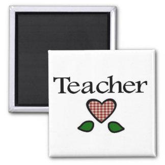 Teacher Red GH Fridge Magnets