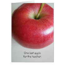 Teacher Retirement Apple Card
