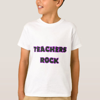 Teacher rock purple T-Shirt