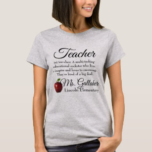 100f00151 Teacher T-Shirts | Zazzle