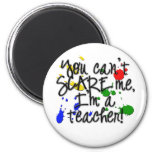 Teacher Scare copy Fridge Magnet