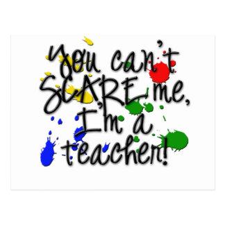 Teacher Scare copy Postcard