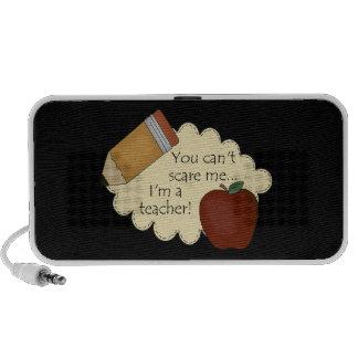 Teacher Scare Portable Speaker