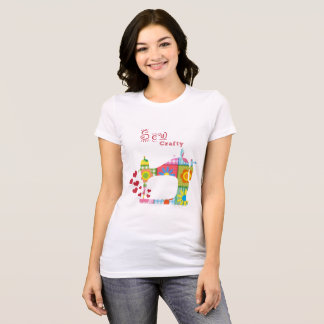 Teacher Sew Crafty Learn by Mini Brothers T-Shirt