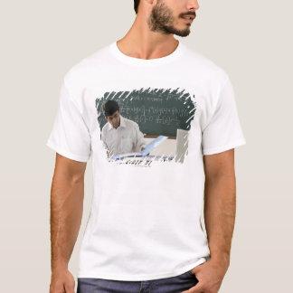 teacher sitting at desk, working T-Shirt