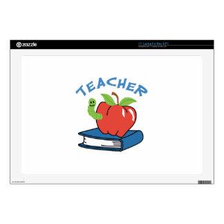 """Teacher 17"""" Laptop Skin"""