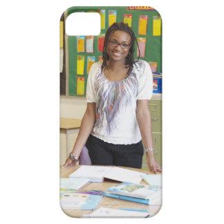 Teacher standing in classroom iPhone SE/5/5s case