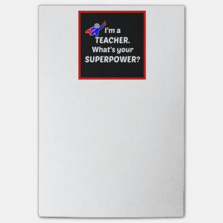 Teacher Super Power Post-it® Notes