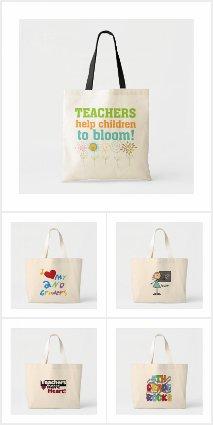 Teacher Tote Bags