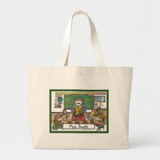 Teacher Totebag - Personalized Canvas Bag